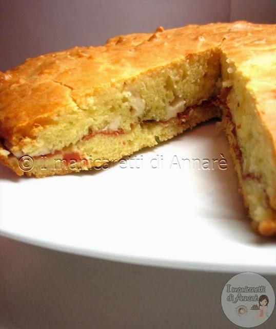 torta rustica con impasto molle