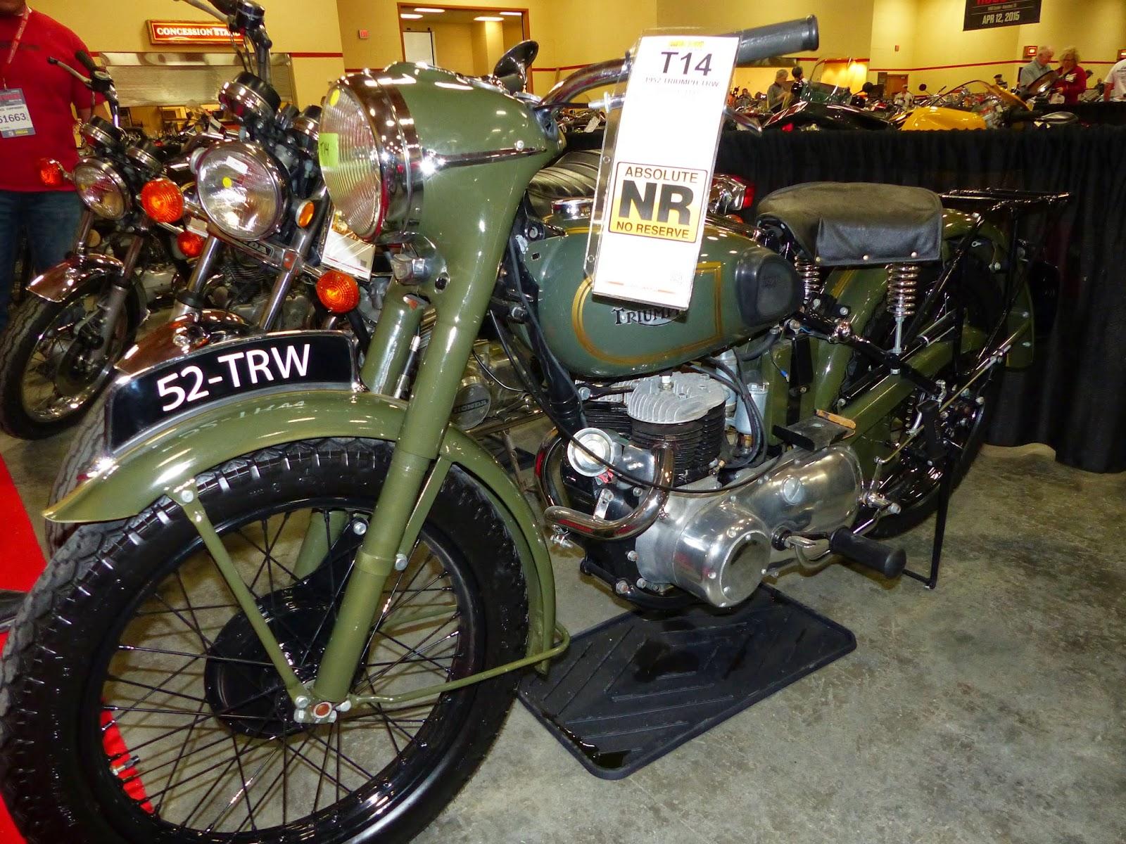 15 1957 Trw 500 Motorcycle