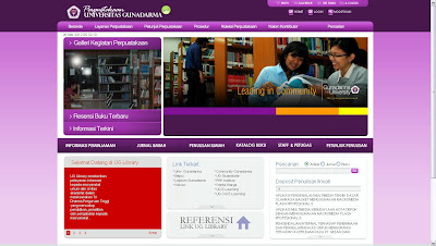 Library Universitas Gunadarma
