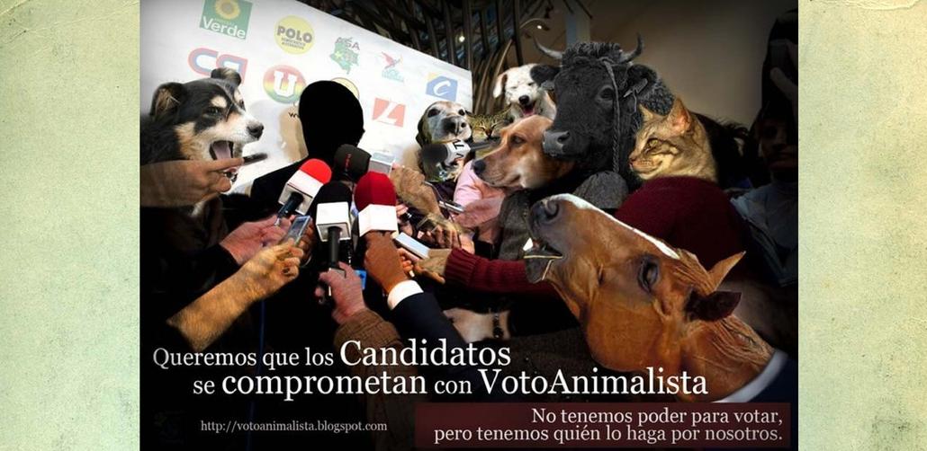 Guia de votación para animalistas