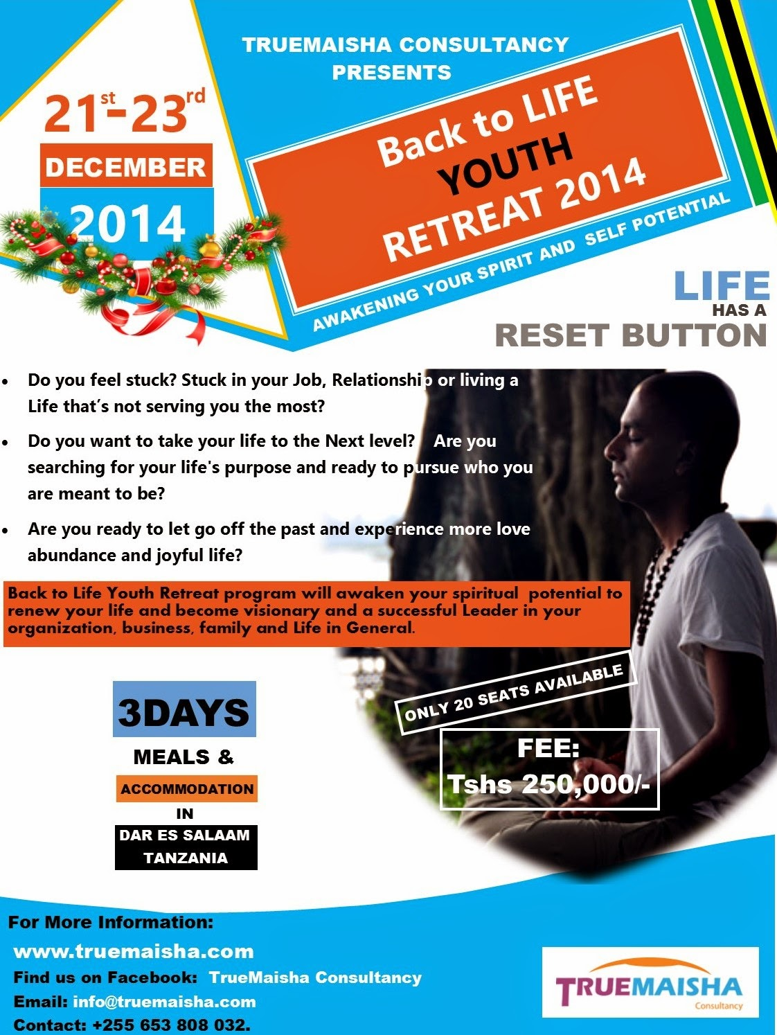 SIGNUP FOR THIS RETREAT NOW!