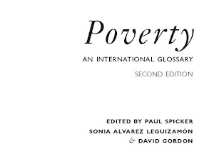 Poverty. An international glossary