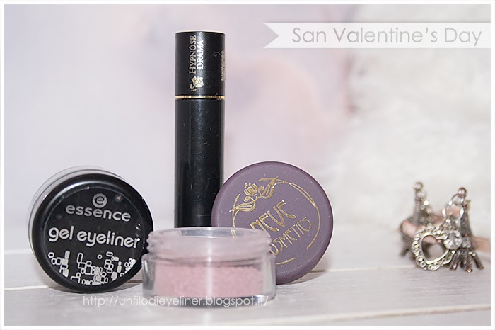 idea make up san valentino chiffon neve cosmetics eyeliner essence mascara lancome hypnos drama