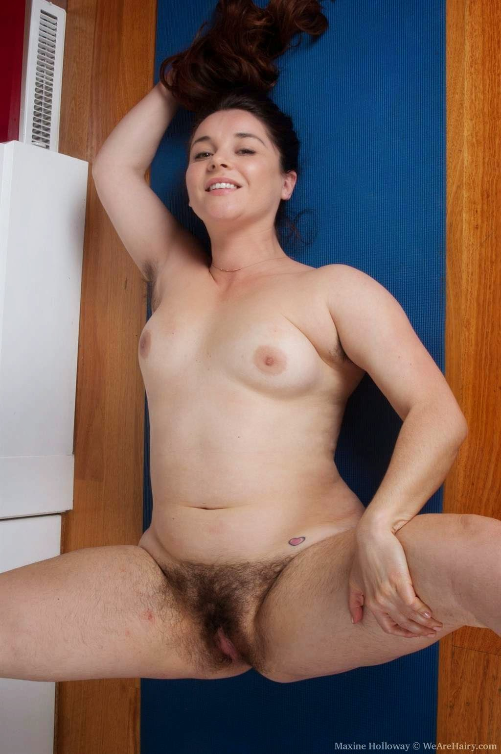 chubby milf with big hairy cunt