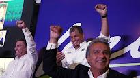 Moreno gana la primera vuelta de las elecciones en Ecuador y se mide frente al opositor Guillermo L