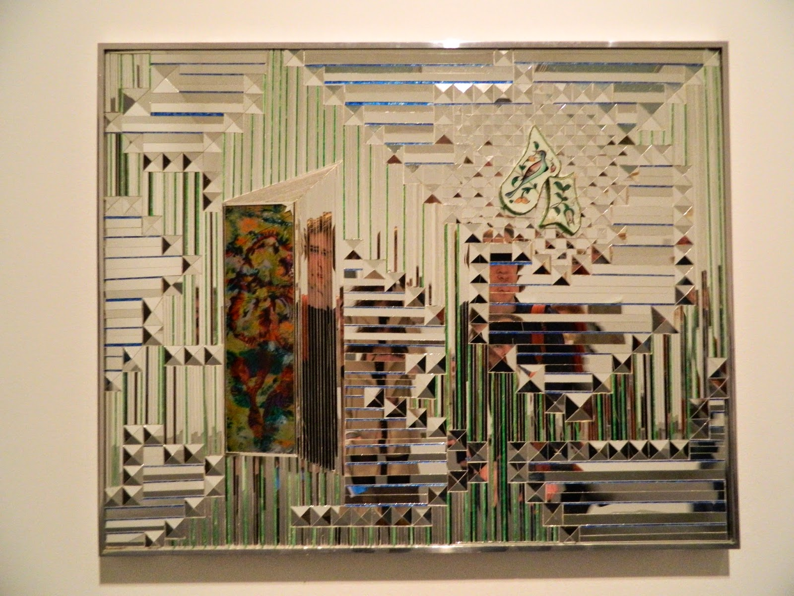 Monir Shahroudy Farmanfarmaian, Something Old Something New, tate gallery mirror reflection