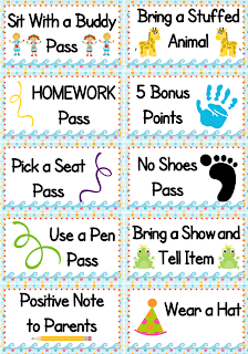 Using simple punch cards for positive behavior support in the classroom Reward Charts   Kids