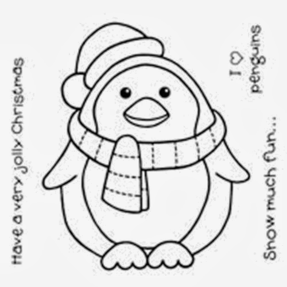 coloring pictures of penguins