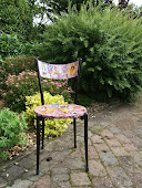 1950's images  Decoupage chair
