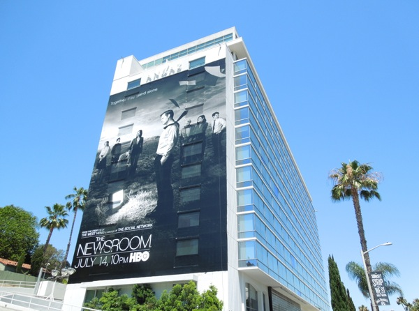 Newsroom series 2 giant billboard