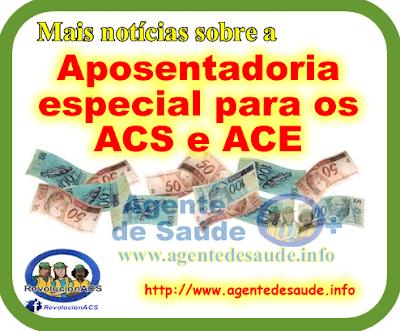 Aposentadoria%2Bespecial%2Bpara%2BACS%2Be%2BACE Notícias sobre a Aposentadoria especial para os ACS e ACE
