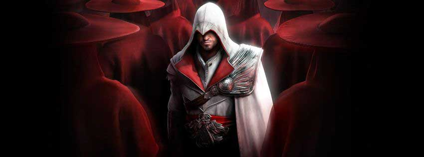 Assassin Creed Brotherhood Game Facebook Timeline Cover