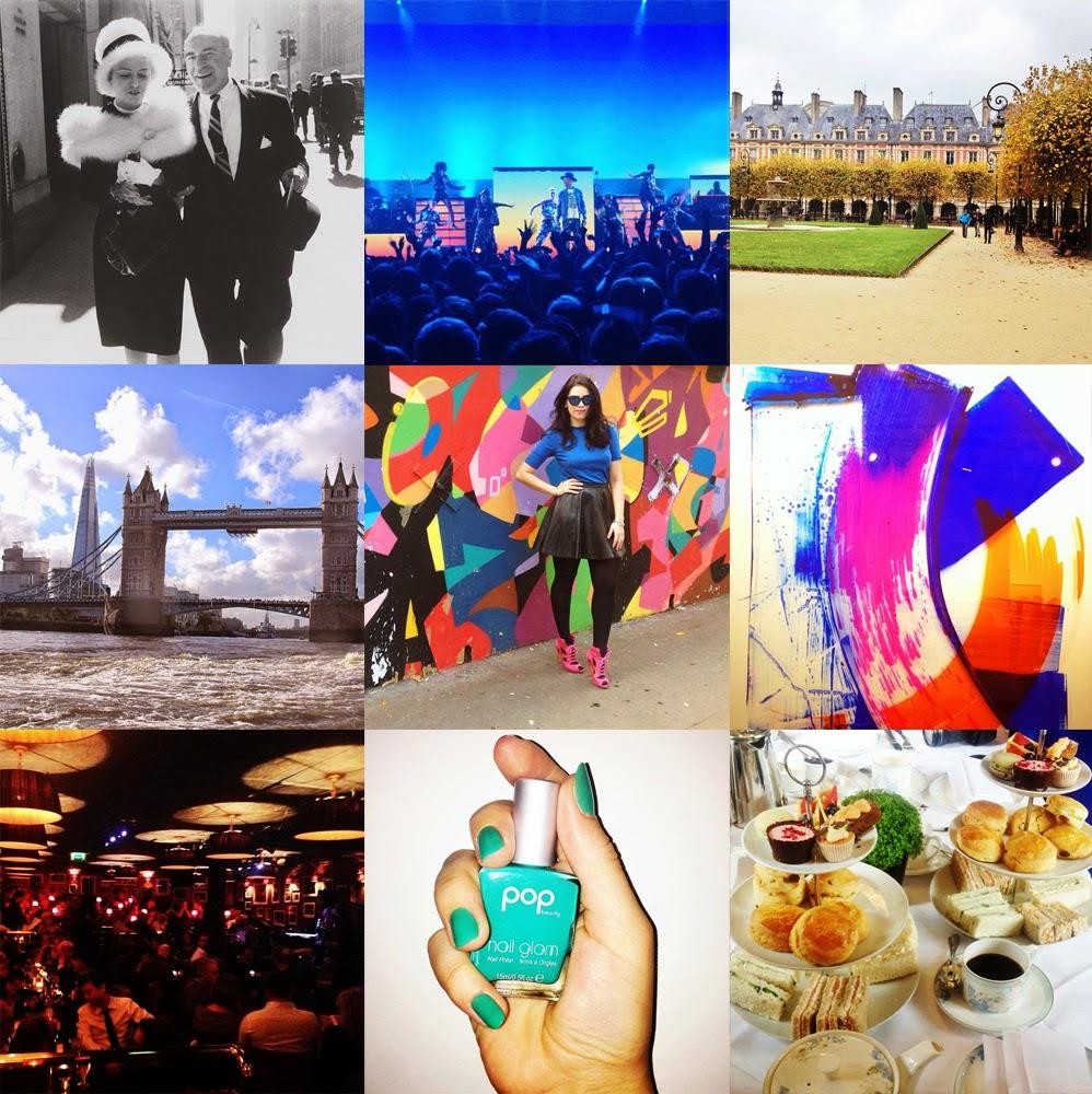 London fashion and lifestyle blogger Emma Louise Layla Instagram photos