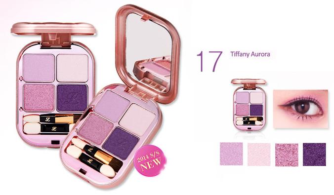 IPKN eyeshadow pact 17 Tiffany Aurora
