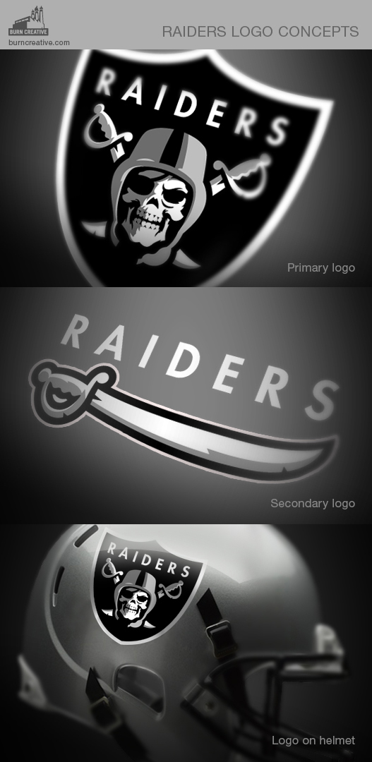 Oakland Raiders Logo Concepts