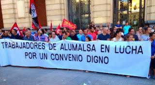 Termina la huelga en Alumalsa