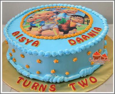 Cakeschocolates Collection: BIRTHDAY CAKE : Upin & Ipin...