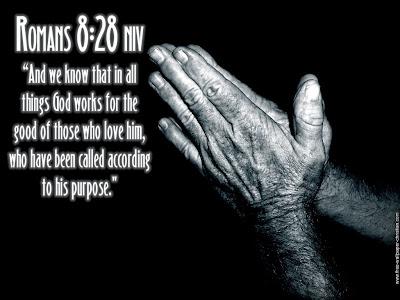 Romans 8:28 Bible Verse Prayer