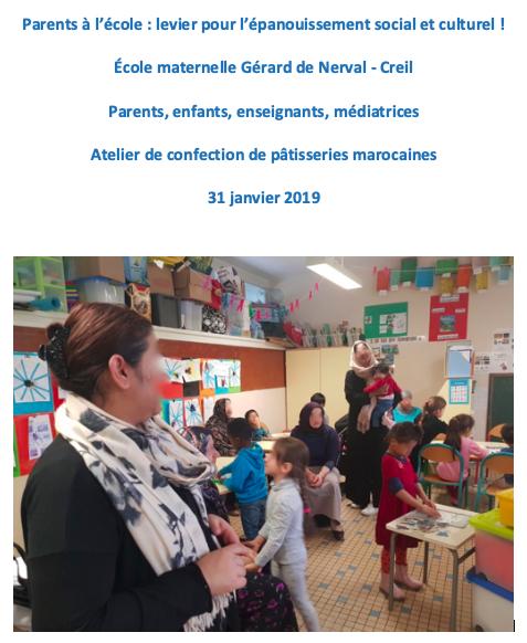 Maternelle Gérard de Nerval 31 01 2019
