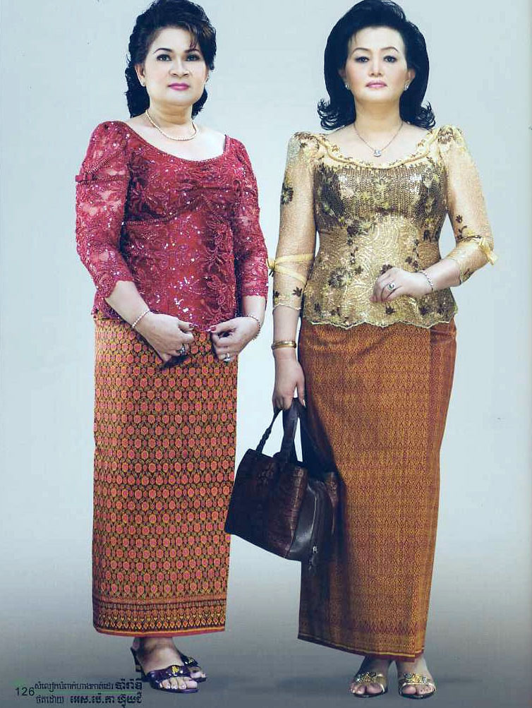 Traditional Khmer Dress For Women