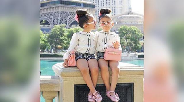 Si Putri Kembar Ini Terkenal Karena Selalu Tampil Modis