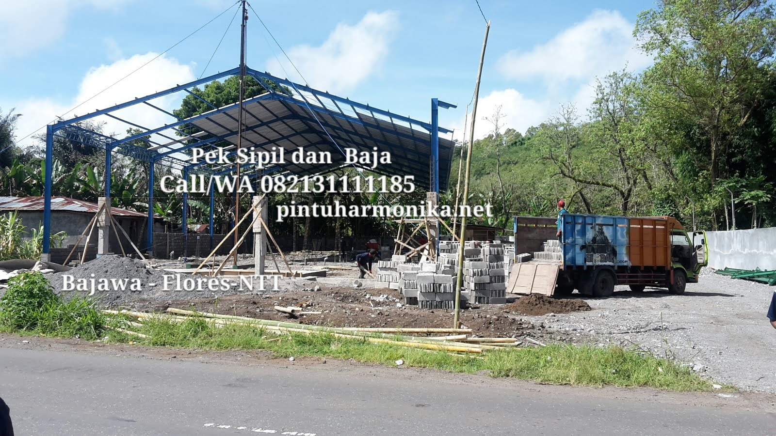 WEBSITE PINTU HARMONIKA