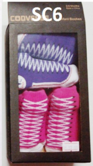 RM18 - Converse Baby Socks