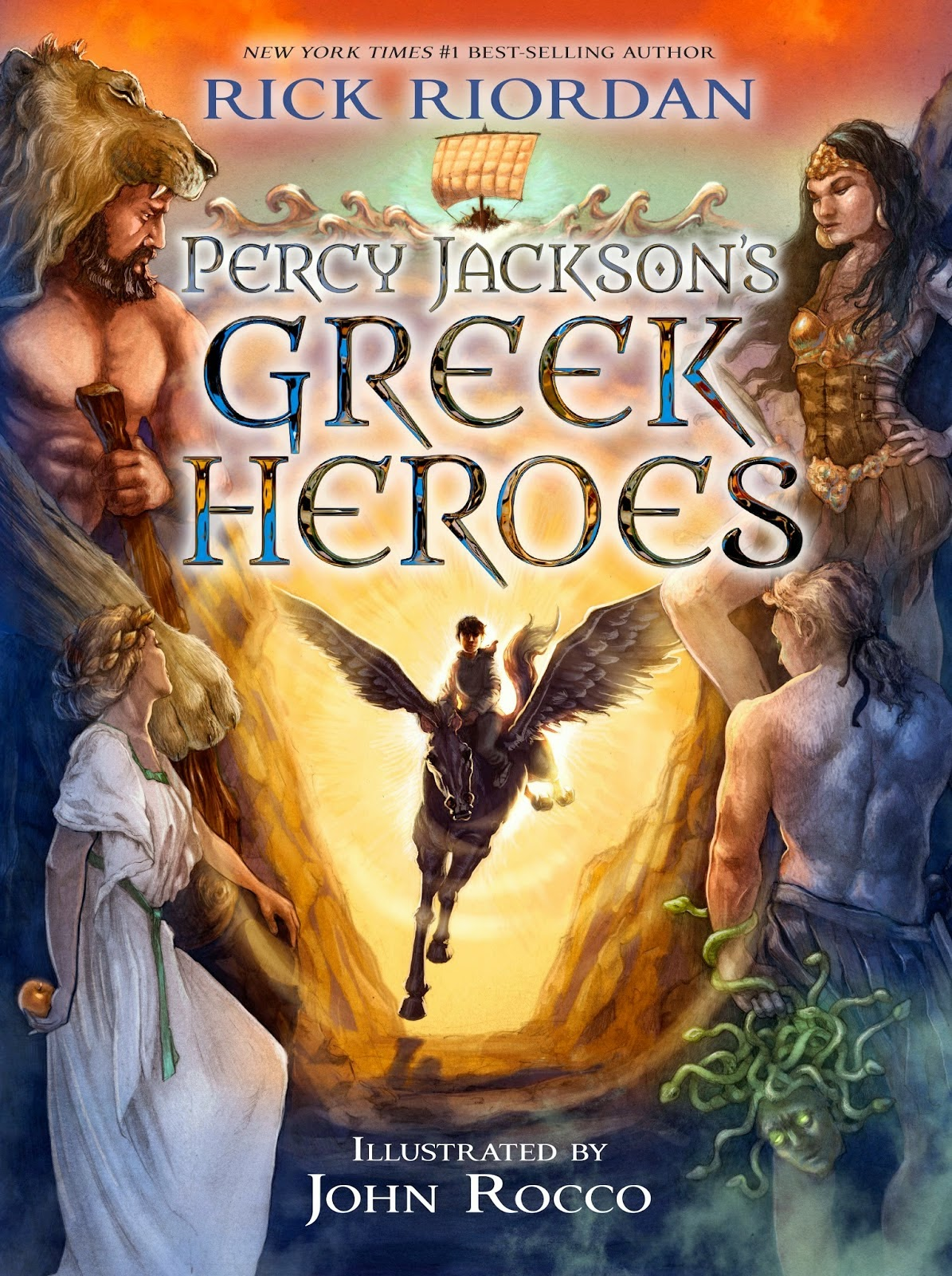 Percy Jackson's Greek Heroes by Rick Riordan
