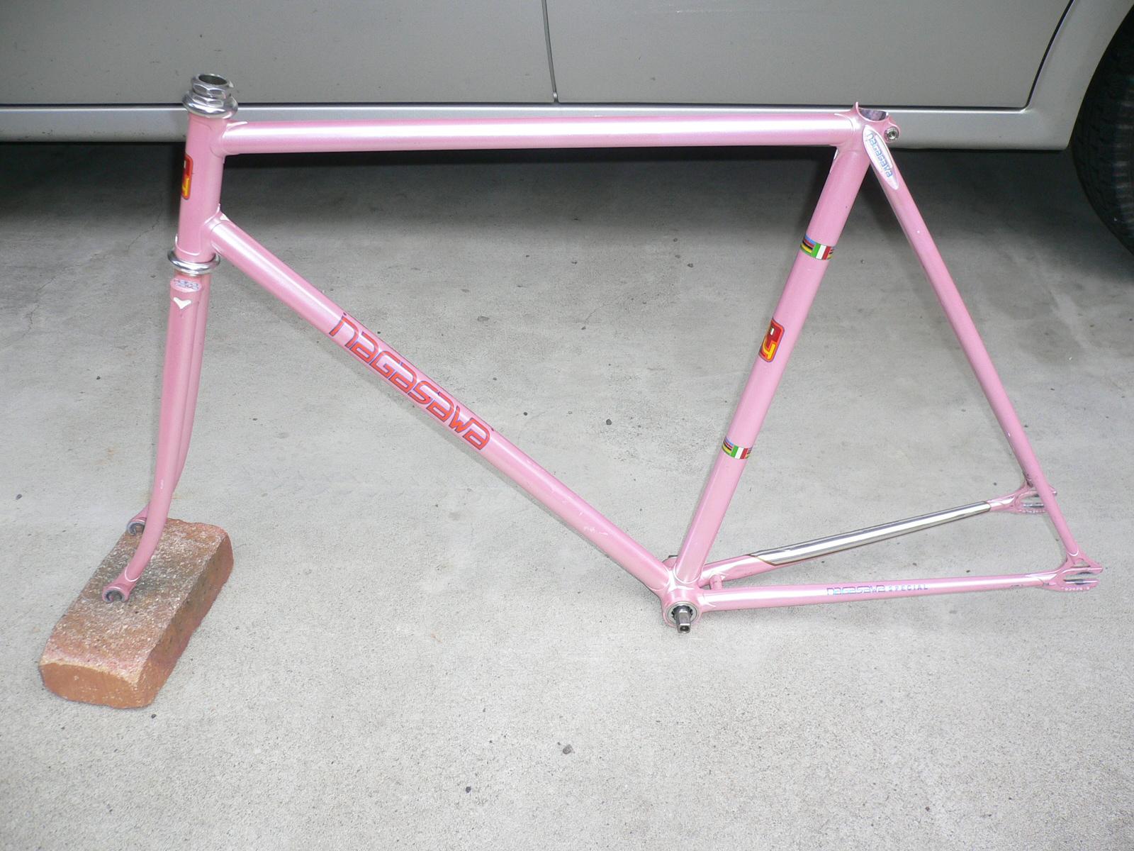njs keirin track bike &frame for sell: 2012