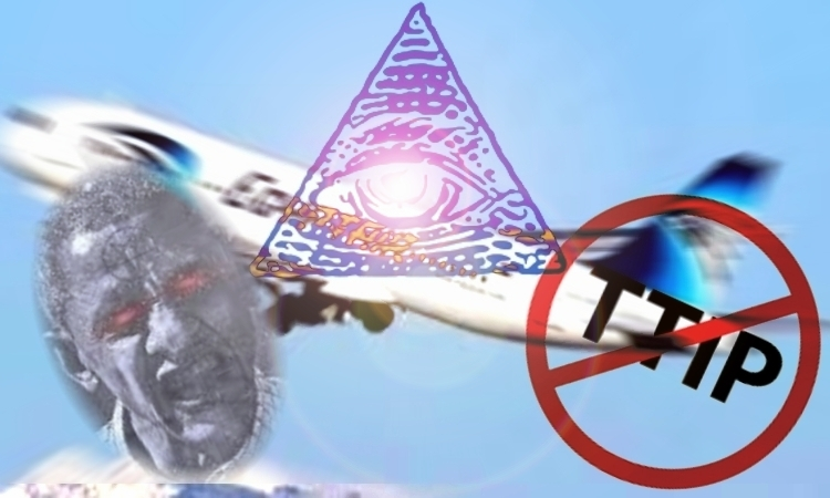 """¿Algo siniestro se esconde tras el """"accidente"""" del vuelo A320 de EgyptAir?"""