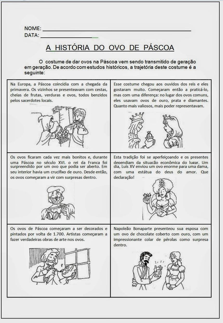 A HISTÓRIA DO OVO DE PÁSCOA