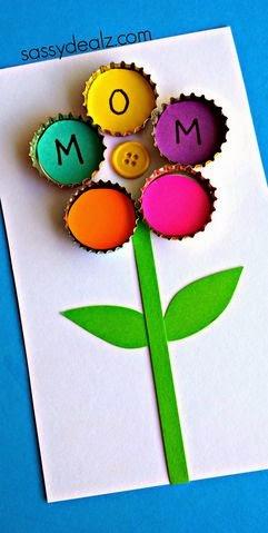 http://www.sassydealz.com/2014/04/bottle-cap-flower-craft-kids.html