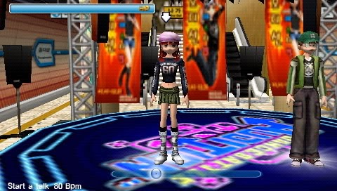 Audition Portable PSP ISO Screenshoot 1