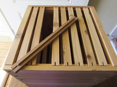 They Are Called Top Bar Hives Because There Are No Frames U0026 No Foundation  For The Comb, Only Bars Set In Place At The Top Of Each Box. Melted Bees