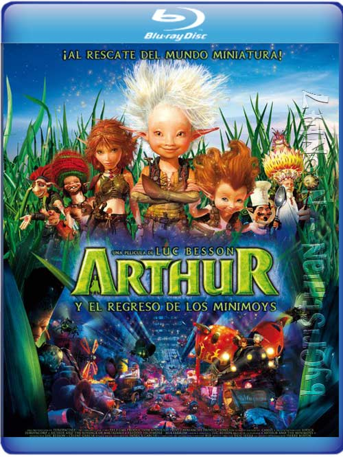 Arthur 2: Y El Regreso De Los Minimoys (Español Latino) (BRrip) (2010)
