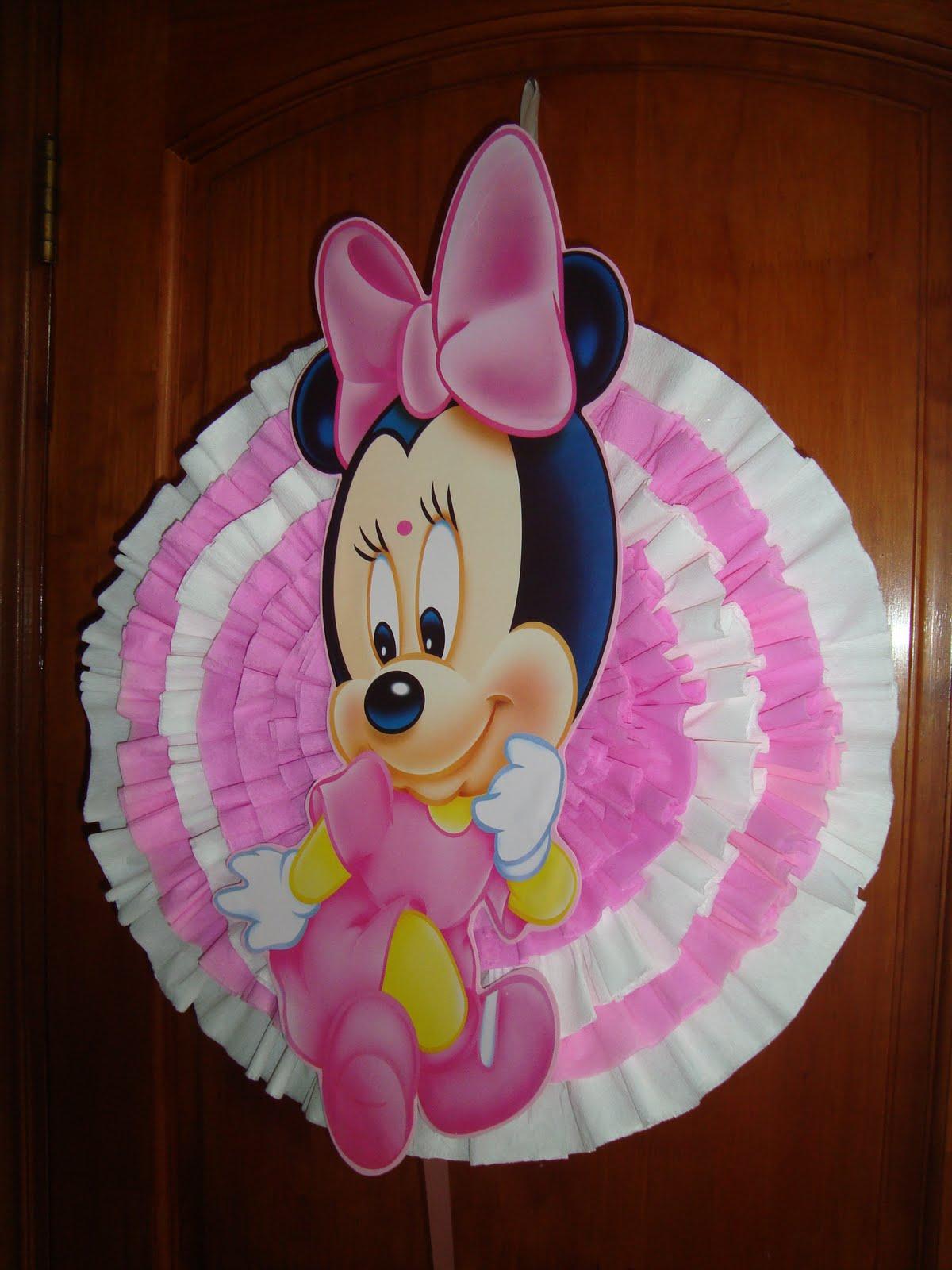 Piñatas de Minnie bebé Disney - Imagui