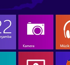 Windows 8 Kamera Uygulaması