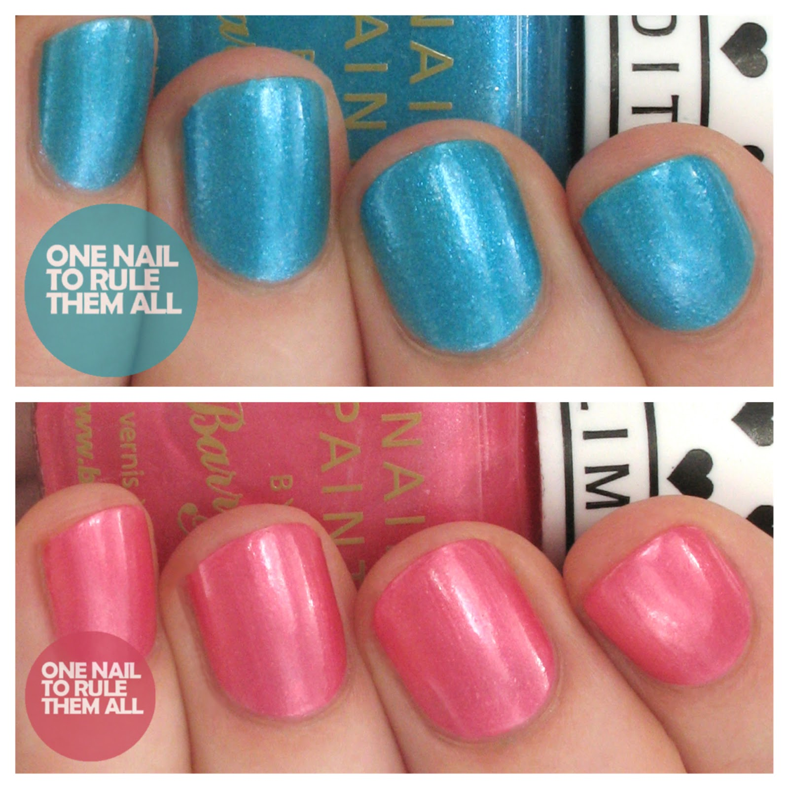 One nail to rule them all barry m summer 2014 limited edition one nail to rule them all barry m summer 2014 limited edition nail polish for superdrug prinsesfo Image collections