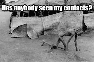 has anybody seen my contacts