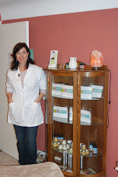 SHEILA WITH HER PRODUCTS
