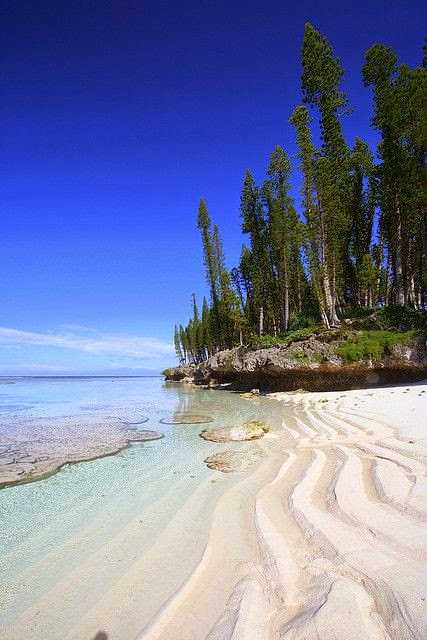 New Caledonia, off the Australian Coast