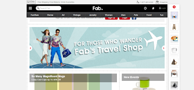 Social Shopping Website Fab to Discover the Most Exciting Things for Your Life