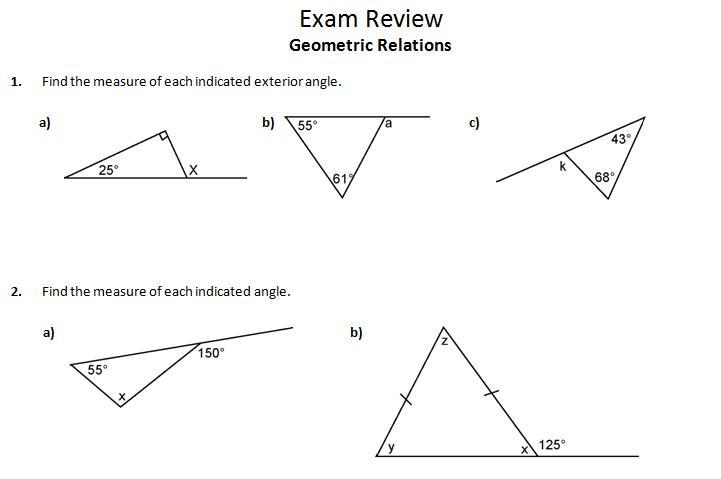 insu0026#39;Piu0026#39;re math: MPM1D Exam Review 3: Geometric Relations ...