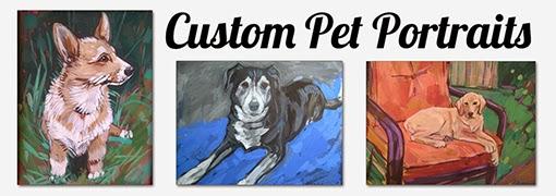 Custom Pet Portraits by Char Fitzpatrick