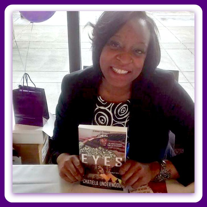 Click the link below to meet and greet<br>Ms Chatiela Underwood, the Author!