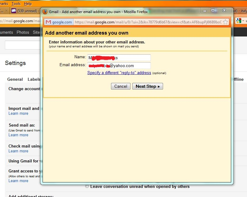 how to delete email address from gmail login