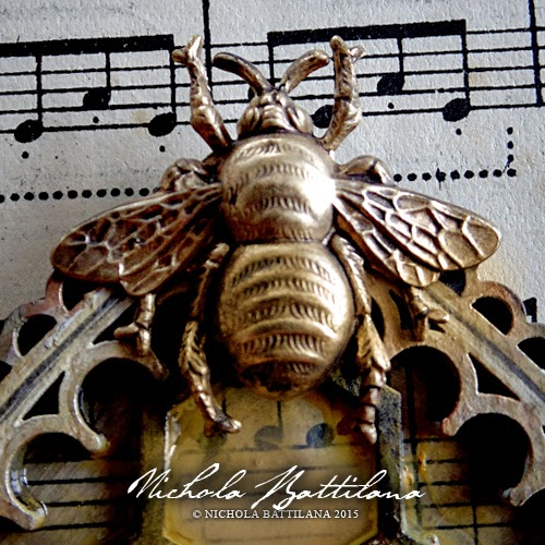Queen Bee Reliquary - Nichola Battilana