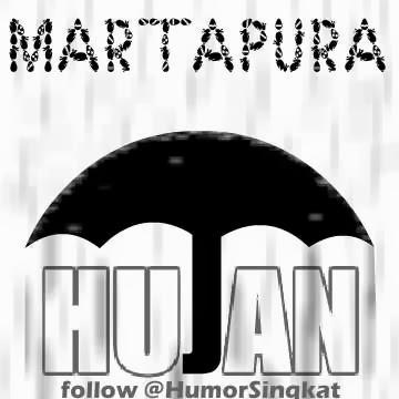 DP BBM Hujan di Martapura
