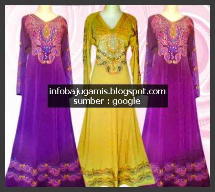 Desain Pakaian Gamis Rompi Baju Gamis Khas Dari India Info