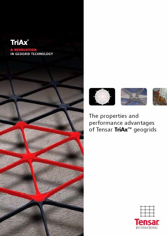 Brosur Tensar Geogrid Triax. Call ISPARMO 0812 108 3060